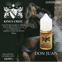 DON JUAN CONCENTRATO 30ML - KING CREST