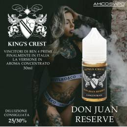 DON JUAN RESERVE CONCENTRATO 30ML - KING CREST
