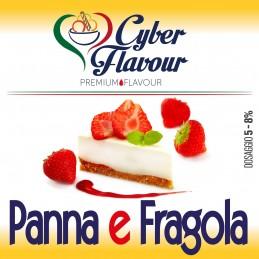 AROMA 10ML CYBER FLAVOUR PANNA E FRAGOLA