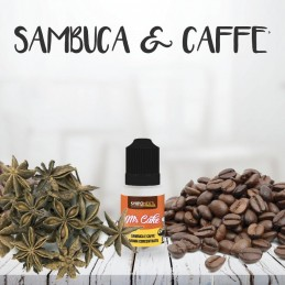 AROMA SAMBUCA E CAFFE 10ML MR.CAKE - SVAPONEXT