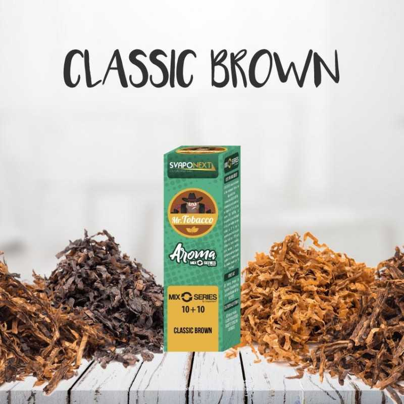 CLASSIC BROWN 10+10 ML MIX SERIES MR.TOBACCO - SVAPONEXT