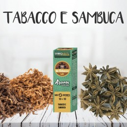 TABACCO E SAMBUCA 10+10ML MIX SERIES MR.TOBACCO - SVAPONEXT