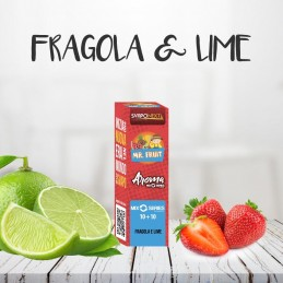 FRAGOLA E LIME 10+10 MLMIX SERIES MR.FRUIT - SVAPONEXT