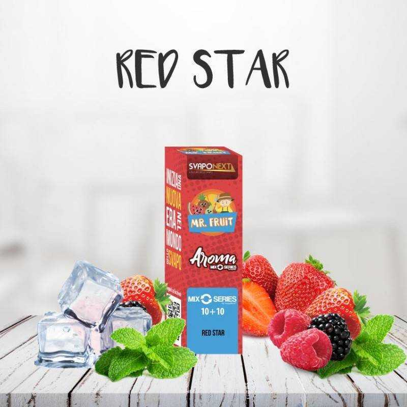 RED STAR 10+10 ML MIX SERIES MR.FRUIT - SVAPONEXT