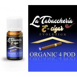 AROMA E-CIGAR ORGANIC 4POD 10ml - LA TABACCHERIA