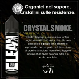 AROMA SCOMPOSTO CLEAN CRYSTAL SMOKE 20ml - AZHAD'S ELIXIRS