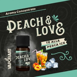 AROMA 10ml PEACH & LOVE- VAPORART