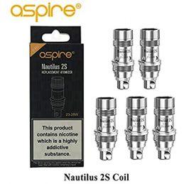 COIL NAUTILUS 2S (5 PCS) - ASPIRE