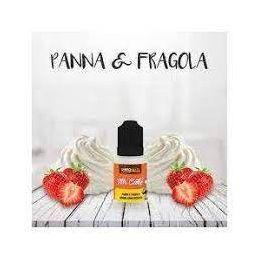 AROMA PANNA E FRAGOLA 10ML MR.CAKE - SVAPONEXT