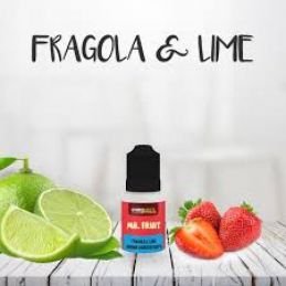 AROMA FRAGOLA E LIME 10ML MR.FRUIT - SVAPONEXT